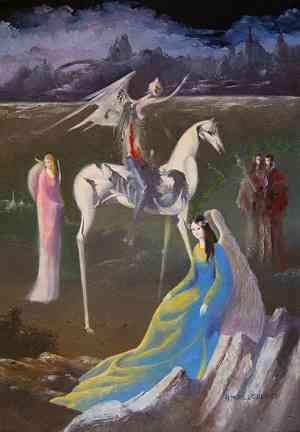 Dipinto di Hugo Murillo Benich