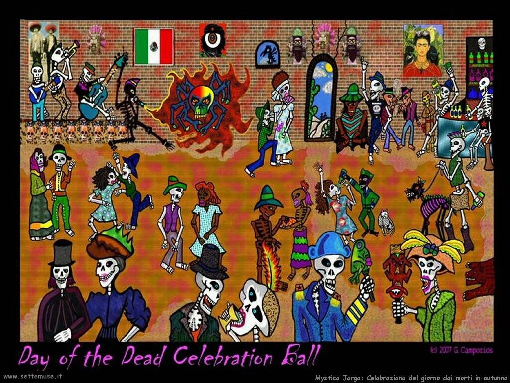 jorge myztico campo  Celebrazione del giorno dei morti in autunno