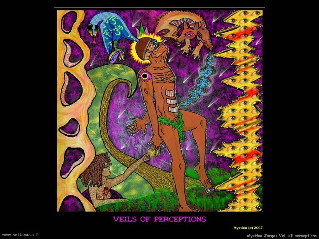 jorge myztico campo  Velo delle percezioni