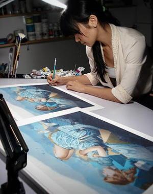 Nguyen Tran pittrice vietnam