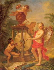 Pittura di Natoire Charles Joseph