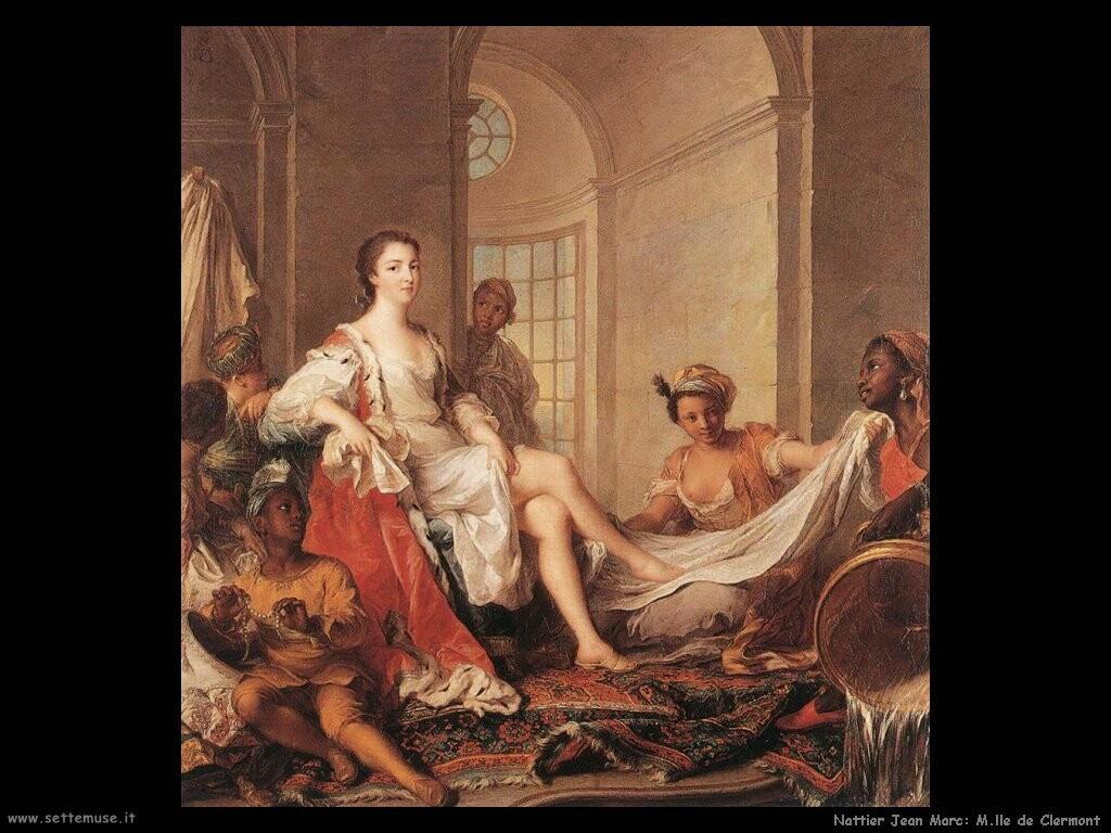 nattier jean marc Mademoiselle de Clermont