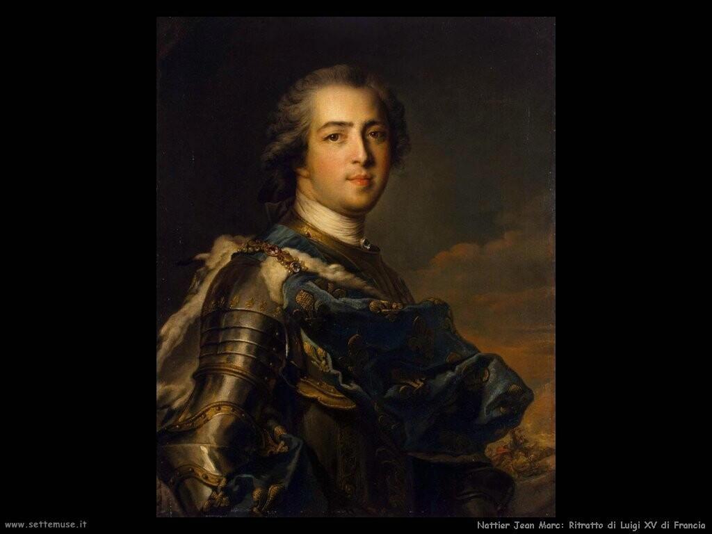 nattier jean marc Ritratto di Luigi XV di Francia