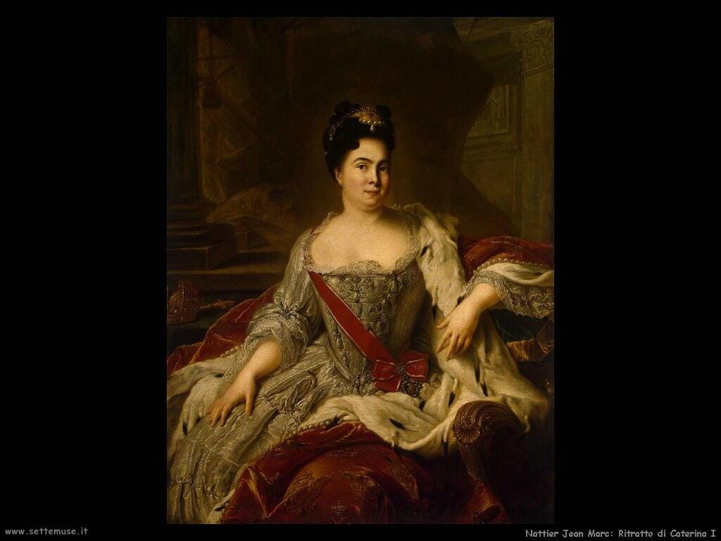 nattier jean marc Ritratto di Catherine I