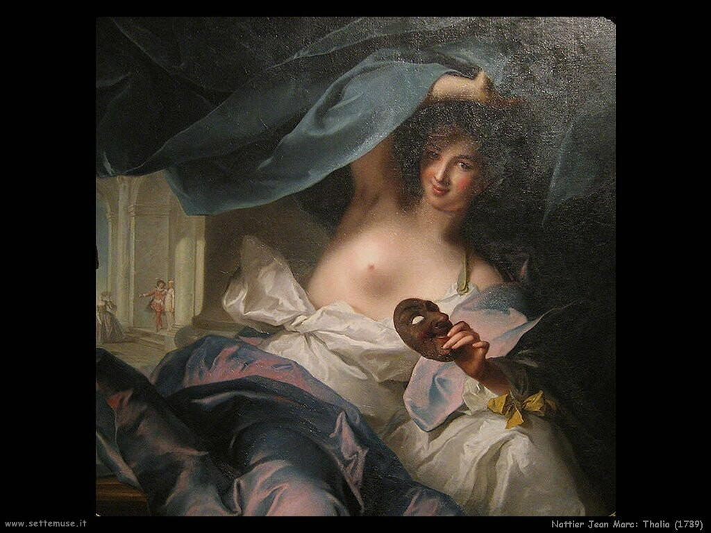 nattier jean marc  Thalia (1739)