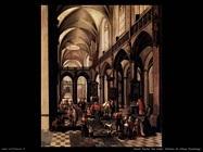 neefs peeter the elder Interno di chiesa fiamminga