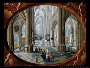 neefs peeter the younger Interno di chiesa gotica