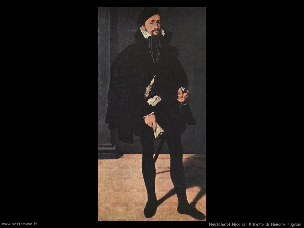 neufchatel nicolas Ritratto di Hendrik Pilgram