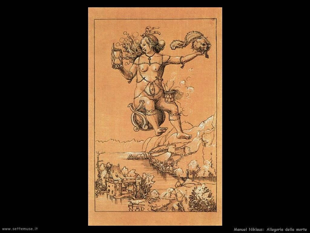 manuel niklaus Allegoria della morte
