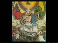 manuel niklaus Vergine e bambino con santi
