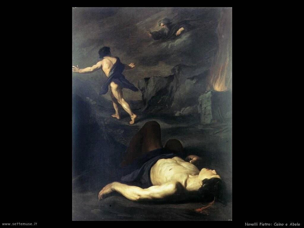 novelli pietro  Caino e Abele