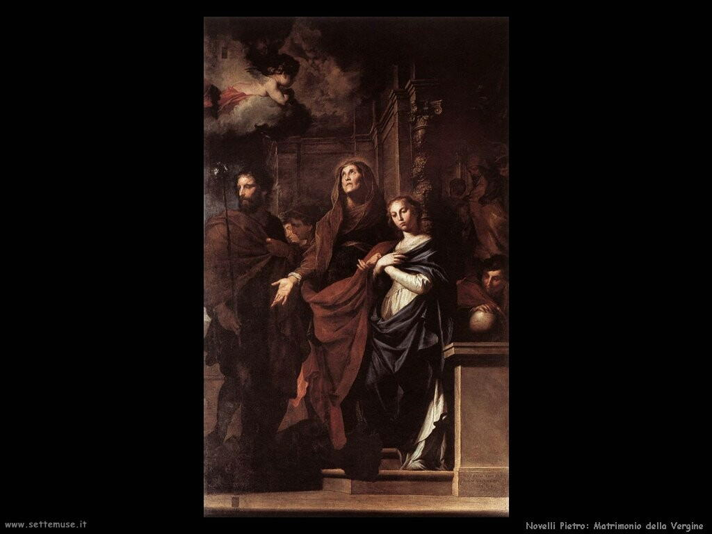 novelli pietro Matrimonio della Vergine