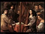 nuvolone carlo francesco L'artista con la sua famiglia