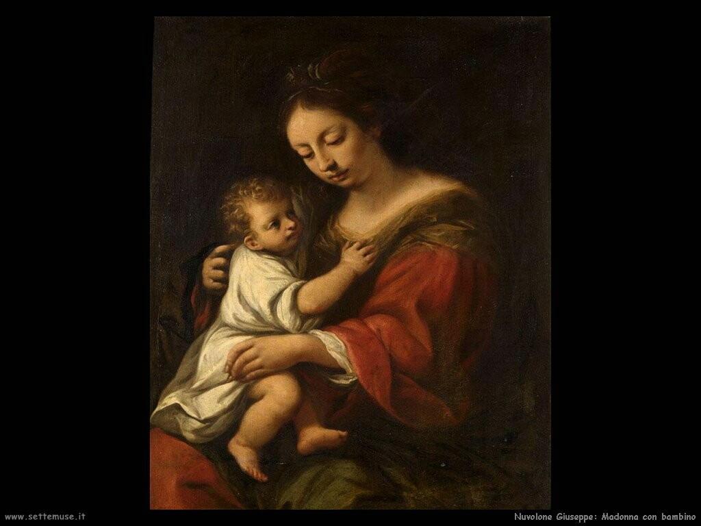 nuvolone giuseppe   Madonna con bambino