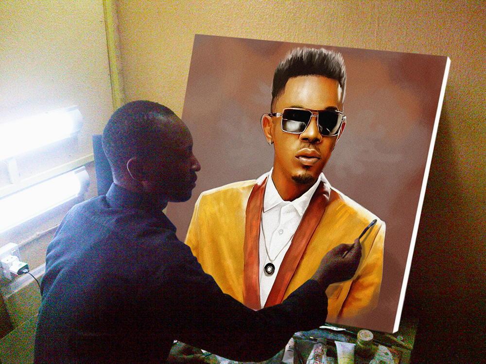 Onyeka Ibe painter