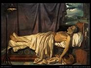 odevaere denis joseph   Lord Byron sul letto di morte