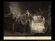 opie john   Scena da una novella di Shakespeare