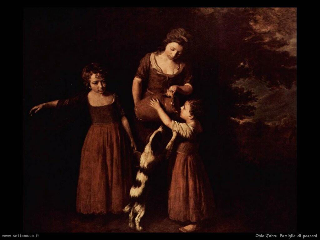 opie john Famiglia di paesani