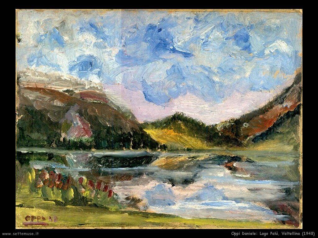 Oppi Daniele lago Palu Valtellina 1948