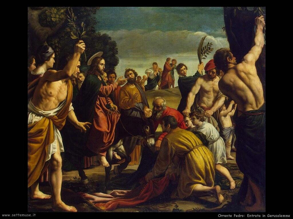 orrente pedro  Ingresso in Gerusalemme
