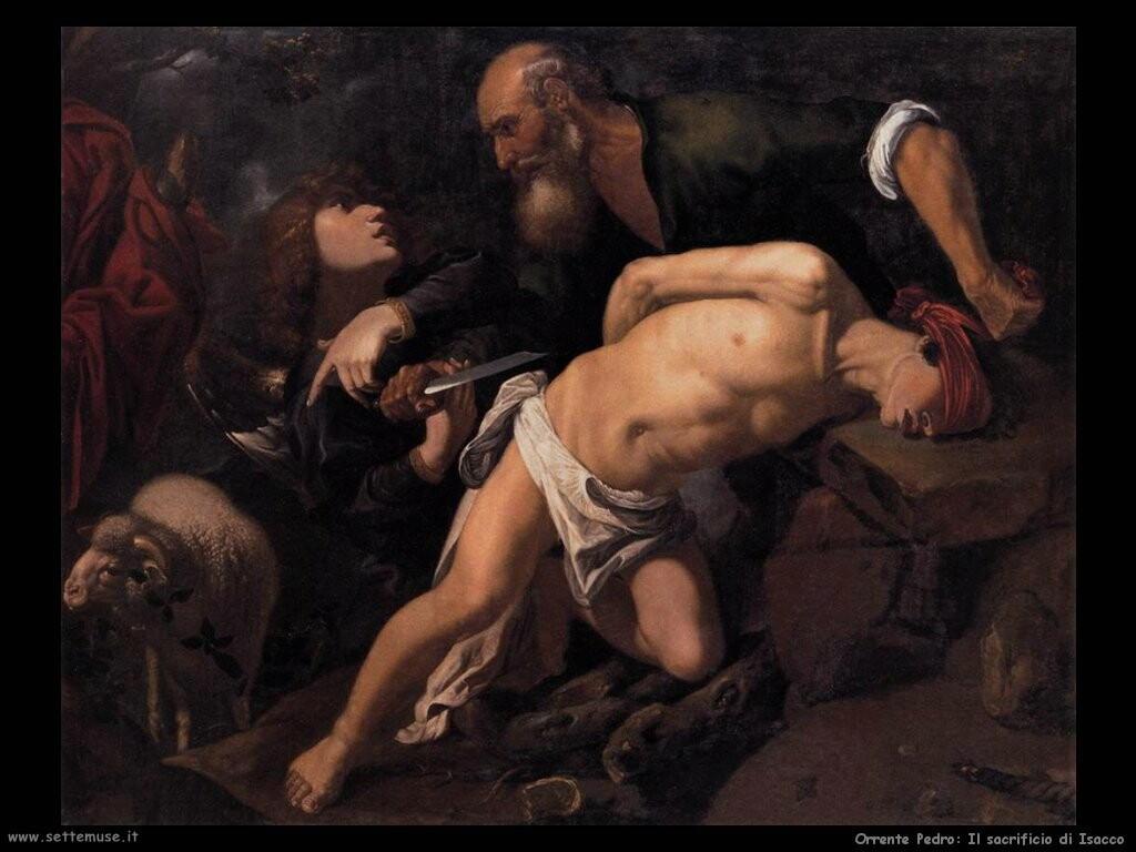 orrente pedro  Il sacrificio di Isacco