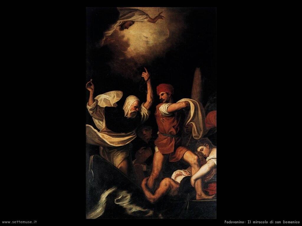 padovanino Il miracolo di san Domenico