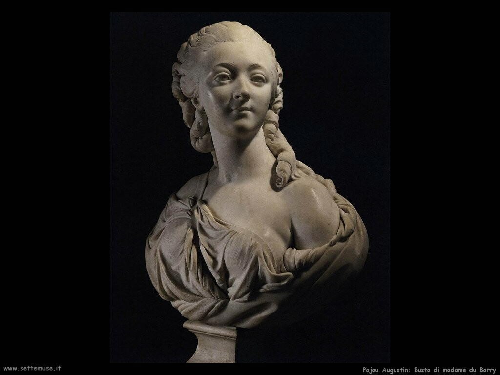 pajou augustin Busto di madame du Barry