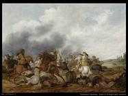 palamedesz palamedes Scena di battaglia della cavalleria