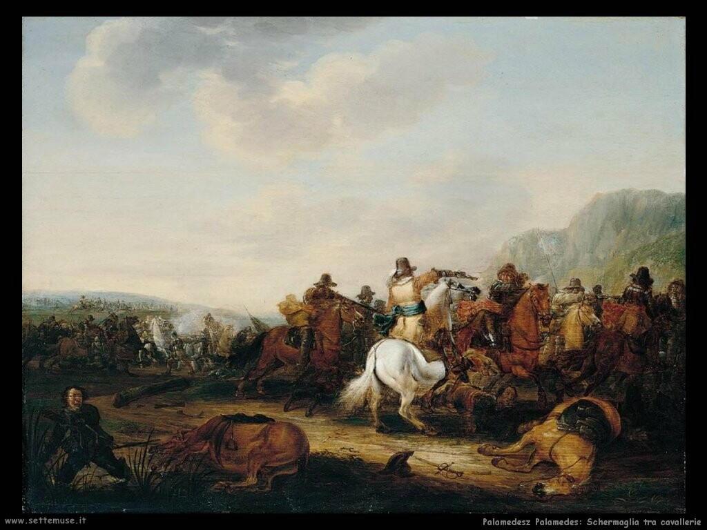 palamedesz palamedes Schermaglie tra cavallerie