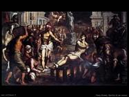 palma giovane  Il martirio di san Lorenzo