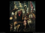 palma giovane Il martirio di santa Giustina