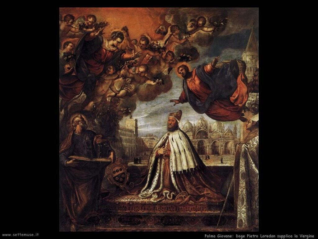 palma giovane Doge Pietro Loredan implorante la Vergine