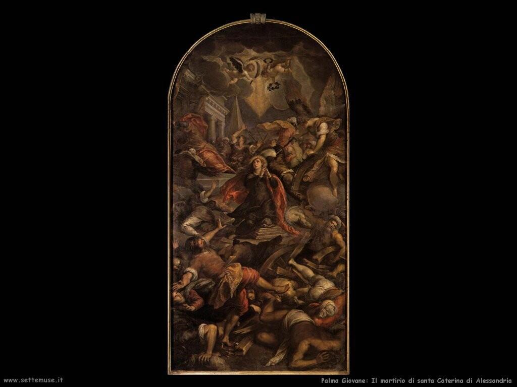palma giovane  Martirio di santa Caterina d'Alessandria