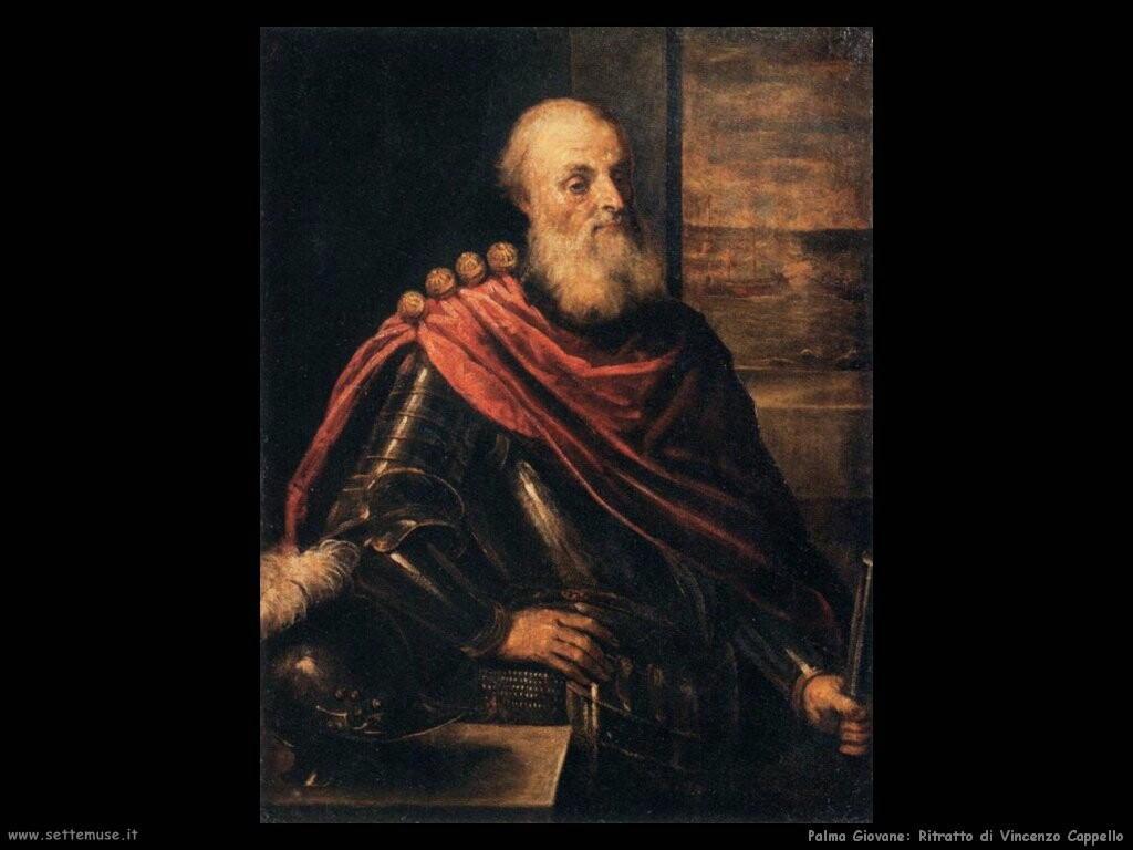 palma giovane Ritratto di Vincenzo Cappello