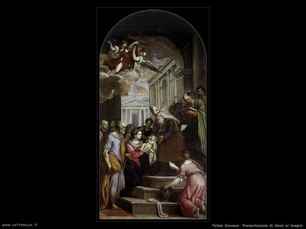 palma giovane  Presentazione di Gesù al tempio