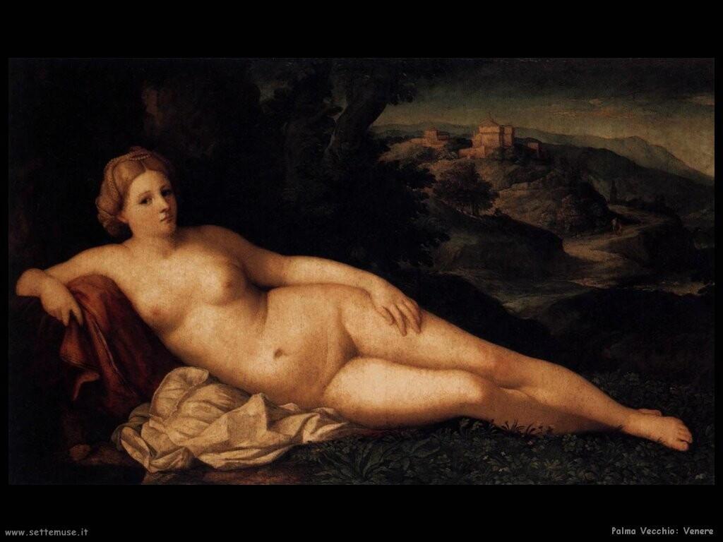 palma vecchio Venere