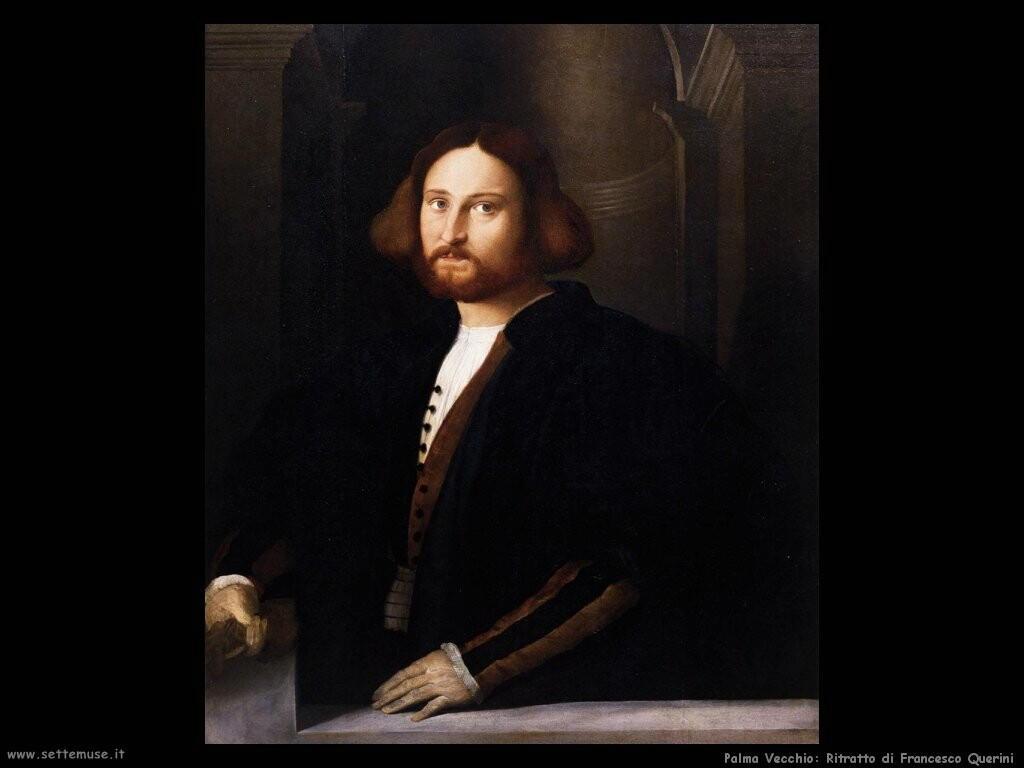 palma vecchio  Ritratto di Francesco Querini