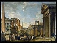 pannini giovanni paolo Capriccio architettonico