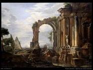 pannini giovanni paolo Capriccio di rovine classiche