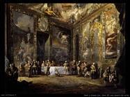 paret y alcazar Charles III cena davanti alla corte