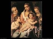 passerotti bartolomeo  Sacra famiglia con san Giovanni
