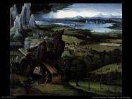 patenier joachim Paesaggio con san Girolamo