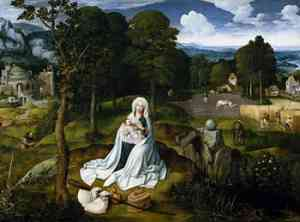 Dipinto di Patenier Joachim