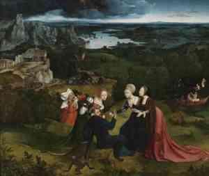 Pittura di Patenier Joachim