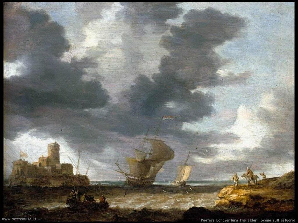 peeters bonaventura the elder Scena sull'estuario
