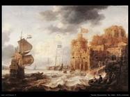 peeters bonaventura the elder  Un porto orientale