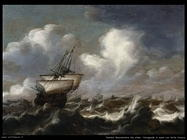 peeters bonaventura the elder Navigando in mare con forte brezza