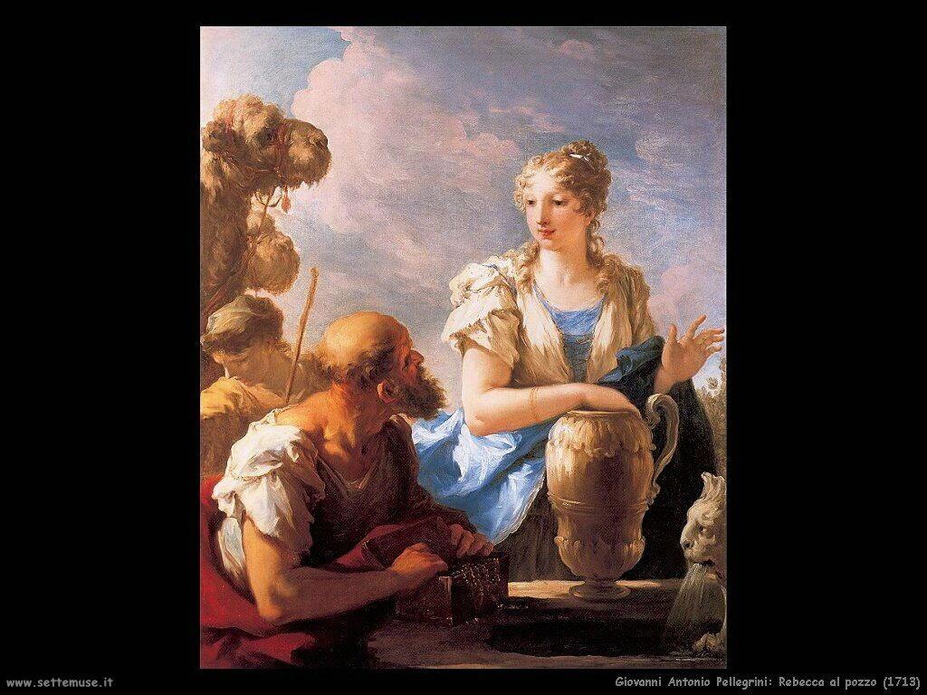 giovanni antonio pellegrini Rebecca al pozzo