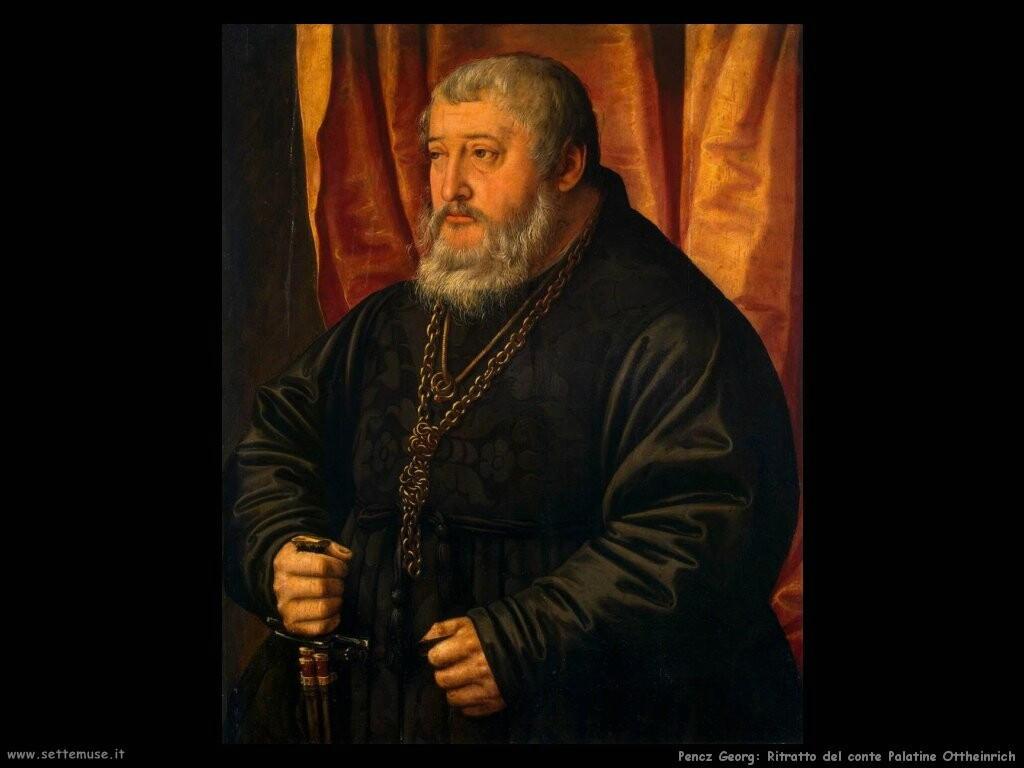 pencz georg   Ritratto del conte Palatine Ottheinrich