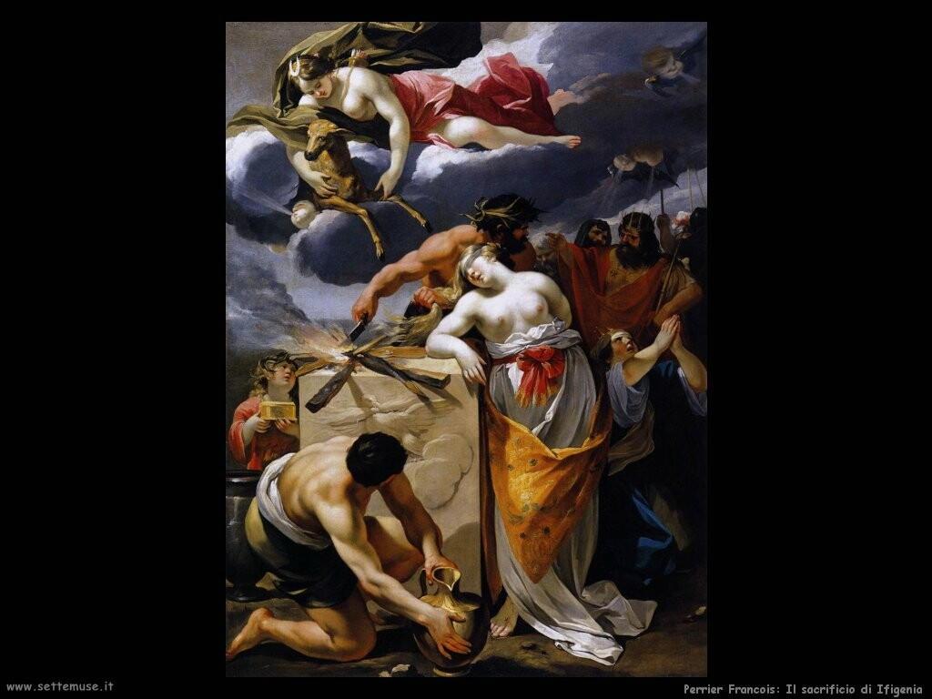 perrier francois  Il sacrificio di Ifigenia
